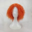 ieftine Îngrijire Unghii-Peruci Sintetice Peruci de Costum afro Kinky Curly Kinky Curly afro Perucă Blond Scurt Portocaliu Păr Sintetic Pentru femei Blond hairjoy