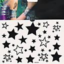 ieftine Tatuaje Temporare-1 pcs Tatuaje temporare Siguranță / Dispensabil Corp / mâini / brachium Aplicația de transfer de apă Acțibilde de Tatuaj / Tatuaj autocolant