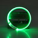 رخيصةأون أطواق ومقاود الكلاب-كلب ياقة أضواء LED قابل للسحبقابل للتعديل قابلة لإعادة الشحن لون سادة TPU أخضر أزرق زهري