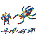 povoljno DVR Mașină-LED osvijetljenje Kocke za slaganje Građevinski set igračke Insekt SPIDER kompatibilan Legoing Cool Uniseks Dječaci Djevojčice Igračke za kućne ljubimce Poklon / Kristal / Poučna igračka