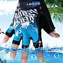 رخيصةأون Huawei أغطية / كفرات-قفازات رجالي نصف اصبع ألوان متناوبة منقط / الخارج / الرياضات