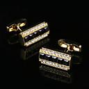 povoljno Manžete-Mandzsettagombok Klasik Poklon kutije i vrećice Moda Broš Jewelry Zlatan Za Party Poslovni / Svečano / Vjenčanje