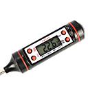 """voordelige Motorverlichting-0.9 """"digitale lcd thermometer voedsel vlees bbq kalkoen keuken catering kooksonde warm (-50 ~ 300'c / 1 * LR44)"""