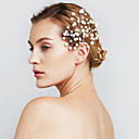 ieftine Bijuterii de Păr-Pentru femei Floare Petrecere Nuntă Perle Imitație de Perle Aliaj Agrafe de păr Bijuterii de Păr Hair Charms Nuntă Petrecere