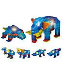 povoljno Muški satovi-Kocke za slaganje Građevinski set igračke Antistresne igračke Slon kompatibilan Legoing Cool Uniseks Dječaci Djevojčice Igračke za kućne ljubimce Poklon / Kristal / Poučna igračka