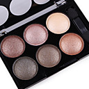 6 Colors Eyeshadow Palette / Powders Men / Women / Lady Alcohol Free / Ammonia Free / Formaldehyde Free Breathable Natural Beauty Daily Makeup / Halloween Makeup / Party Makeup 1160 Cosmetic / Matte