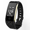 povoljno Ženski satovi-s2 pametni sat BT 4.0 fitness tracker podrška obavijest vodootporan zakrivljen zaslon sport manšeta za Samsung / Sony android telefoni i iPhone \ t
