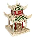 رخيصةأون مخففات التوتر-قطع تركيب3D تركيب بناء مشهور اصنع بنفسك خشبي الخشب الطبيعي استايل صيني للأطفال للجنسين ألعاب هدية