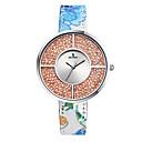 preiswerte Armband-Damen Uhr Sportuhr Modeuhr Japanisch Quartz Echtes Leder Mehrfarbig 30 m Wasserdicht Analog damas Freizeit Gold Silber Rotgold