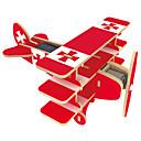 povoljno iPhone maske-Igračke na solarno napajanje 3D puzzle Puzzle Letjelica Solarni Uradi sam drven Klasik Dječji Dječaci Djevojčice Igračke za kućne ljubimce Poklon