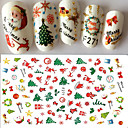 billige Neglepleie-1 pcs Klistremerker & Tape Nail Decals Nail Art Design