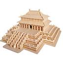 رخيصةأون 3D الألغاز-قطع تركيب3D تركيب بناء مشهور اصنع بنفسك خشب الخشب الطبيعي استايل صيني للأطفال للجنسين هدية