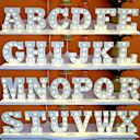 ieftine Lumini & Gadget-uri LED-led scrisori lumini semn 26 litere alfabet aprinde litere semn pentru noapte lumina nunta petrecere aniversare baterie alimentat Crăciun lampă acasă decorare bar