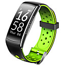 رخيصةأون ساعات ذكية-q6 الذكية معصمه بلوتوث اللياقة البدنية تعقب دعم الإخطار / القلب رصد معدل الرياضة للماء smartwatch متوافق مع فون / سامسونج / الروبوت الهواتف