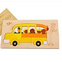povoljno Muški satovi-3D puzzle Puzzle Poučna igračka Životinje drven Prirodno drvo Crtići Dječji Uniseks Igračke za kućne ljubimce Poklon