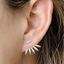 ieftine Cercei-Pentru femei Cercei Stud femei stil minimalist Modă Small cercei Bijuterii Auriu / Argintiu Pentru Zilnic