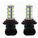 ieftine Car Signal Lights-2pcs H11 / 9005 / 9006 Mașină Becuri 3 W SMD 5050 270 lm LED Bec Semnalizare