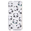 Case Xiaomi Transparent / Pattern Back Cover Cartoon / Panda Soft TPU Xiaomi Redmi Note 4 / Xiaomi Redmi Note 3