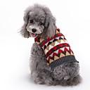 ieftine Pet Costume de Crăciun-Pisici Câine Haine Pulovere Crăciun Iarnă Îmbrăcăminte Câini Gri Costume Spandex Amestec de Bumbac / In Tartan / Carouri Petrecere Cosplay Casul / Zilnic XXS XS S M L XL