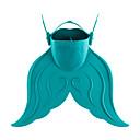 ieftine Module-Aripioarele Diving Aripioare înot Portabil Sirenă Lamă Scurtă Înot Scufundare Snorkeling PE TPR - pentru Copii Rosu Verde Albastru