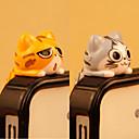 "povoljno MacBook Air 13"" maske-anti-prašina plug diy mačka crtani film pvc diy za iphone 8 7 samsung galaksija s8 s7"