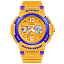 رخيصةأون ساعات الرجال-SMAEL رجالي ساعة رياضية ساعة رقمية رقمي جلد اصطناعي الأبيض / أزرق / البرتقال 50 m عرض ساخن تناظري-رقمي سحر - زهري الذهب / أبيض البحرية / أبيض