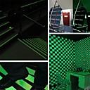 povoljno Dekoracija doma-svjetleće svjetleće trake upozoravajuće pruge svijetle u tamnim redovima za nuždu naljepnica od vinilne naljepnice fluorescentna traka naljepnica