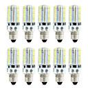 ieftine Lumini de Panou-brelong 10 buc smd3014 dimmable 80 de porumb lumina alb / cald alb / ac110v / ac220v / e11 / e12 / e17
