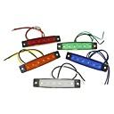 رخيصةأون لمبات السيارات LED-SENCART 1 قطعة شاحنة / دراجة نارية / سيارة لمبات الضوء 1.5W SMD LED 120lm 6 أضواء الخارج For عالمي كل السنوات