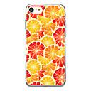 voordelige iPhone 6 Plus hoesjes-hoesje Voor iPhone 7 / iPhone 7 Plus / iPhone 6s Plus iPhone SE / 5s Transparant / Patroon Achterkant Fruit Zacht TPU