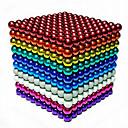 ieftine Jucării cu Magnet-216/512/1000 pcs 5mm Jucării Magnet bile magnetice Lego Super Strong pământuri rare magneți Magnet Neodymium Magnet Neodymium Stres și anxietate relief Birouri pentru birou Reparații Pentru copii