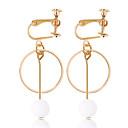 povoljno Naušnice-Žene Klipse dame Personalized Moda Naušnice Jewelry Zlato Za Dnevno Izlasci