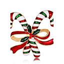 رخيصةأون بروشات-نسائي دبابيس سيدات موضة مطلي بذهب وردي بروش مجوهرات قوس قزح من أجل عيد الميلاد عام جديد
