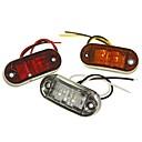 ieftine Becuri De Mașină LED-sencart 1 bucata camion / motocicleta / masina becuri 1w baie led 120lm 2 lumini exterioare lumini de decor pentru universal toate ani