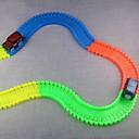ieftine Colier la Modă-1: 190 Jucării pentru mașini Cale ferată auto Noutate Jucării Clasice Stralucire in intuneric Fluorescent Iluminat ABS Băieți Fete