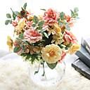 رخيصةأون مصابيح الضباب للسيارات-زهور اصطناعية 1 فرع النمط الرعوي الورود أزهار الطاولة