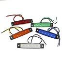 رخيصةأون لمبات السيارات LED-SENCART 1 قطعة شاحنة لمبات الضوء 1.5W SMD LED 120lm 6 أضواء الخارج For عالمي كل السنوات