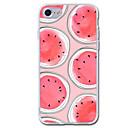 voordelige Galaxy S7 Edge Hoesjes / covers-hoesje Voor iPhone 7 / iPhone 7 Plus / iPhone 6s Plus iPhone SE / 5s Transparant / Patroon Achterkant Fruit Zacht TPU