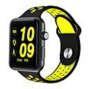 رخيصةأون أجهزة اللعب-smartwatch dm09 بلوتوث جولة شاشة الحياة الرياضية للماء لالروبوت الهواتف ios مع بطاقة SIM عداد الخطى النوم اللياقة البدنية تعقب