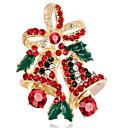 povoljno Broševi-Žene Sintetički dijamant Broševi Cvijet dame Broš Jewelry Zlato Pink Za Božić