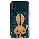 voordelige Galaxy S7 Edge Hoesjes / covers-hoesje Voor Apple iPhone X / iPhone 8 Plus / iPhone 8 Patroon Achterkant dier / Cartoon Zacht Siliconen