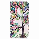 رخيصةأون LG أغطية / كفرات-غطاء من أجل LG V30 / LG Q6 محفظة / حامل البطاقات / مع حامل غطاء كامل للجسم شجرة قاسي جلد PU