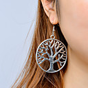 povoljno Naušnice-Žene Viseće naušnice Stablo života životno stablo Vintage Moda Naušnice Jewelry Pink Za Kauzalni