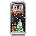 رخيصةأون حافظات / جرابات هواتف جالكسي S-غطاء من أجل Samsung Galaxy S7 edge / S7 / S6 edge سائل متدفق / نموذج غطاء خلفي عيد الميلاد قاسي الكمبيوتر الشخصي