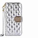 povoljno Maske/futrole za Galaxy S seriju-Θήκη Za Samsung Galaxy S8 Plus / S8 / S7 edge Novčanik / Utor za kartice / Štras Korice Jednobojni Tvrdo PU koža