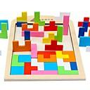 povoljno Konstrukcijske igračke-Tetris Kocke za slaganje Mrtva priroda kompatibilan Legoing Fokus igračka Klasik Igračke za kućne ljubimce Poklon / drven