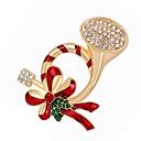 povoljno Broševi-Žene Sintetički dijamant Broševi Poslastica Broš Jewelry Zlato Za Božić Dnevno