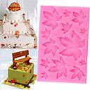 ieftine Ustensile & Gadget-uri de Copt-arțar frunze silicon tort mucegai Crăciun fondant bomboane de ciocolată copt mucegai