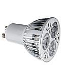 ieftine Spoturi LED-HRY 1 buc 9 W Spoturi LED 600 lm GU10 3 LED-uri de margele LED Putere Mare Decorativ Alb Cald Alb Rece 85-265 V / 1 bc / RoHs