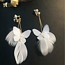 povoljno Odjeća za psa i dodaci-Žene Klipse dame Klasik Kićanka Naušnice Jewelry Obala Za Vjenčanje Party